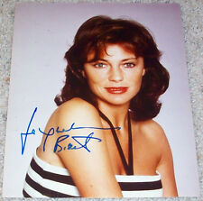 JACQUELINE BISSET SIGNED AUTOGRAPH BULLITT 8x10 PHOTO w/PROOF DAY FOR NIGHT