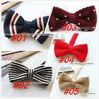 Knit Euro British Style Men's Bowtie Men Adult Kid Bow Tie Party Wedding Classic