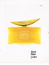 PUBLICITE ADVERTISING 034   1992   JEAN MARIE SINAN   pafum