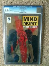 MIND MGMT # 1 CGC 9.6 HERNANDEZ VARIANT COVER DARK HORSE COMICS