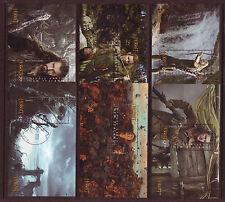 Nouvelle-Zélande 2013 Bilbo le Hobbit jeu de 6 Sheetlets fine utilisé