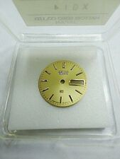 SEIKO Gold color Day/Date Watch Dial #3E230ATL in Orig Pkg, NOS