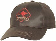 Scippis DriTec Cap Baseball Base Ball Outdoor Biker Kappe Army Käppi Braun
