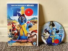 RIO ANIMATED DVD FROM THE CREATORS OF ICE AGE GREAT FAMILY FILM