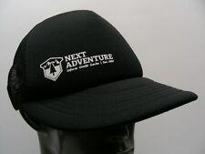 NEXT ADVENTURE - TRUCKER STYLE ADJUSTABLE SNAPBACK BALL CAP HAT!