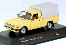 1/43 scale IST Models IST030 Wartburg 353 pick-up 1977 sand MIB