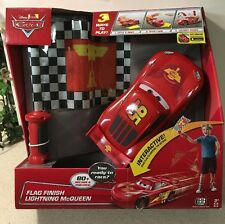 Disney Cars Flag Finish Lightning McQueen Interactive 80+ Sounds & Phrases NEW