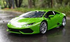 Welly 1:24 Lamborghini Huracan LP610-4 Diecast Model Racing Car Toy Green Boxed