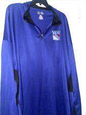 New York Rangers Half Zip Shirt Size 5Xl New