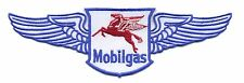 """8"""" Mobil Patch with wings Gas Station Motor Oil Mobilgas Hot Rod Pegasus"""