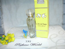 L'Air du Temps NINA RICCI EDT + Parfum with Blue Bird Top (2 pcs.set) Collection