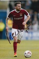 NORTHAMPTON TOWN HAND SIGNED PAUL ANDERSON 6X4 PHOTO.