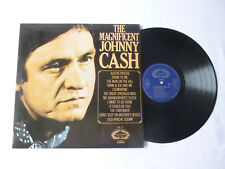THE MAGNIFICENT JOHNNY CASH ~ NrM/EX ~ UK COUNTRY LP ~ QUALITY VINYL & AUDIO
