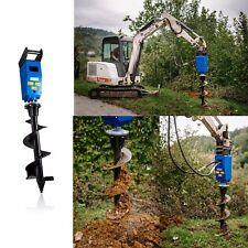 Kegelspalter Holzspalter und Erdbohrer Bagger Komplett 1.100 ccm Ölmotor