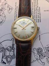 Vintage Antique Men's Waltham Watch Swiss Red Arrow Second Hand Date Manual Wind
