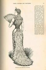 E-Book on CD 1890s Butterick Masquerade & Carnival Costume Book 178 pgs