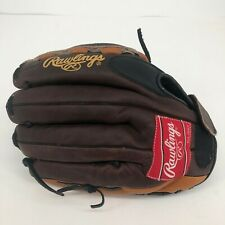 RIGHT HT - Rawlings Softball Baseball Glove RB125 Brown Pro Leather The Bull