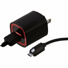 Verizon Wall Charger with 6 ft. Cable and LED Light for Micro USB