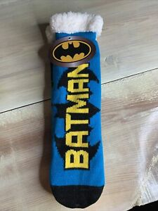 DC Comics Batman Sherpa Lined Socks