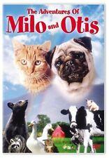 THE ADVENTURES OF MILO AND OTIS  -  DVD - REGION 1 - SEALED