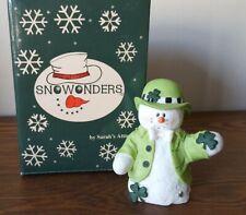 Sarah's Attic Snowonders March Figure 1998 New In Box!