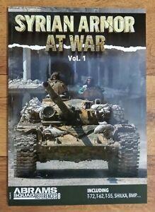 Abrams Squad References 8: Syrian Armor at War Vol 1, Softback book Pla (Armour)