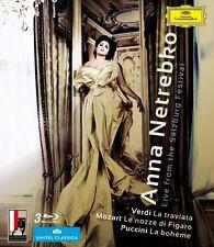 ANNA NETREBKO-LIVE AUS SALZBURG (3 BLU-RAY) 3 BLU-RAY NEU VERDI/MOZART/PUCCINI