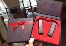 Famous Brand Makeup Lip Set 2 Colors Lip Gloss Kit 2pcs Lipstick Travel Gift