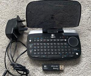 logitech dinovo mini Media Keyboard with Dongle/Battery