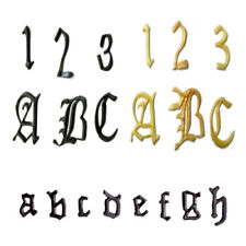 FMM Cutter Alphabet Old English Letters Cake Sugarpaste Cutting Tool Stencil
