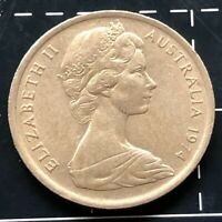 1974 AUSTRALIAN 5 CENT COIN