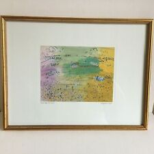 Raoul Dufy Wheatfields At Langres Framed Print 16.5in x 12.5in Fauvism Glazed