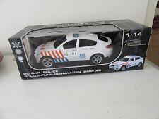Modelauto 1:14  BMW X6  RC Politieauto