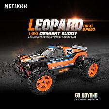 RC Geländewagen Elektro Buggy Auto Geschwindigkeiten bis 40km/h Maßstab 1:24