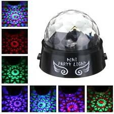 Party LED Light Colorful Rotating Mini Portable for DJ Disco Stage Lighting Lamp