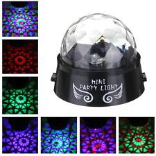 Mini RGB Stage Laser Lighting Voice Controll LED Effect Light Disco DJ Party New
