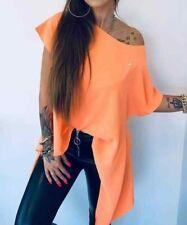 Bluse / Orange / Schwarz/ Weiß/Grün /Gelb /Beige/ Lola / Trapez