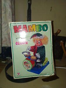 Mambo beating drummer clown still in original box