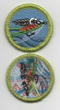 """Fly Fishing Merit Badge, Type L, """"Since 1910"""" Back (2012-Current)"""