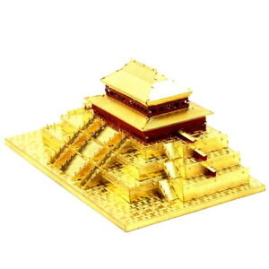 New 3D Metal Puzzle China Hall of Supreme Harmony Assemble DIY Jigsaw Toy Model