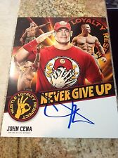 John Cena Signed Licensed WWE 11X14 Photo Poster PSA/DNA Quick Opinion