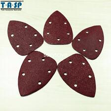 25PCS Abrasive Paper Sheet for Palm Sander 140x100mm  60 80 120 180 240 Grit