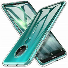 Ultra Slim Clear Soft Case Silicone TPU Back Cover For Nokia 7.2 8.3 2.3 5.3 3.4