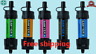 New Sawyer Mini Water Filter System Kit - Purification Straw - Multiple Colours