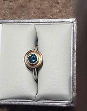 Handmade Blue Fine Rings