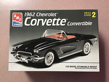 Amt 1962 Corvette 1:24 Scale Model Kit # 6489