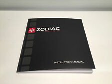 New - Booklet Folleto ZODIAC - Instruction Manual - Watches Relojes Montres