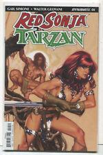 Red Sonja-Tarzan #1 NM Dynamite Comics MD15