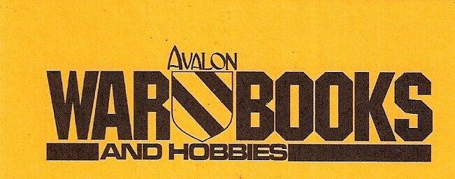 Avalon ONLINE War Books and Hobbies