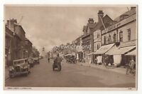 High Street Lymington Hampshire Vintage Postcard  028c